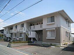 大阪府四條畷市田原台1丁目の賃貸アパートの外観