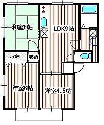 池田ハウス[1階]の間取り