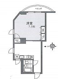 東京都大田区東雪谷5丁目の賃貸マンションの間取り