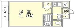 セントレジデンス博多[6階]の間取り