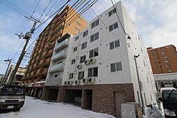 北海道札幌市中央区南六条西14丁目の賃貸マンションの外観