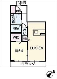 ターナSumiyoshi[2階]の間取り