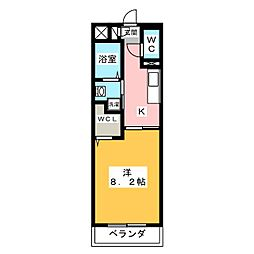 仮称)津市半田T&Nマンション[1階]の間取り