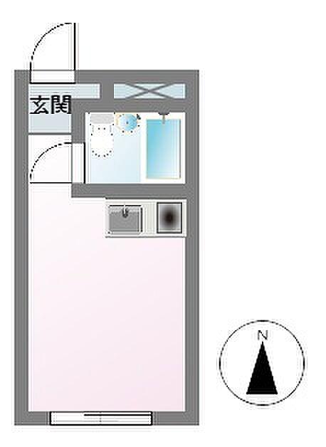 間取り(メゾン・ド・ノア大横町 間取り図)