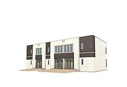 仮)田寺新築アパート[1階]の外観