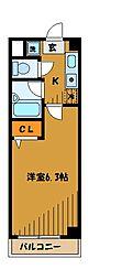 第6千代鶴ビル[2階]の間取り
