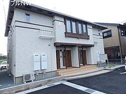三重県松阪市高町の賃貸アパートの外観