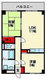ロワイヤルT・N I[3階]の間取り