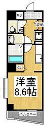 エスタシオン[5階]の間取り