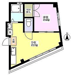 コーポ田中[3階]の間取り