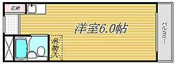 シャレー都立大カワベ第5[2階]の間取り
