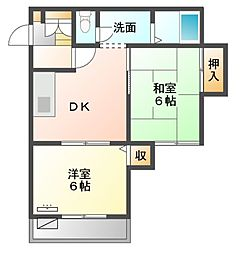 F512Mハウス[2階]の間取り
