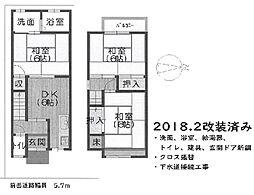 近鉄京都線 伊勢田駅 徒歩5分