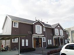 兵庫県姫路市伊伝居字岸ノ下の賃貸アパートの外観