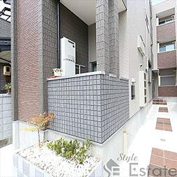 愛知県名古屋市北区志賀町1の賃貸アパートの外観