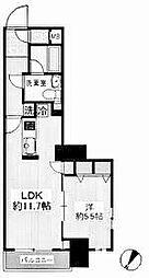 神奈川県横浜市西区浜松町13の賃貸マンションの間取り