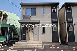 岡山県岡山市中区藤崎丁目なしの賃貸アパートの外観