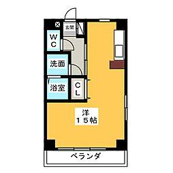 I.B.WEST[4階]の間取り