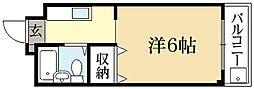 メゾンLee[4階]の間取り