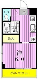 鈴木マンション[301号室]の間取り