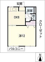 アネックス小川B棟[2階]の間取り