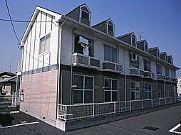 埼玉県三郷市早稲田2丁目の賃貸アパートの外観