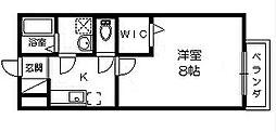 美らハウス(ちゅらはうす)[2階]の間取り
