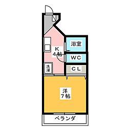 K−1ビル[3階]の間取り