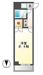 ニッシンハイツ千代田[2階]の間取り