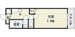 シャンテ・笠松[2階]の間取り