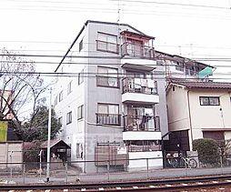 京都府京都市左京区田中上大久保町の賃貸マンションの外観