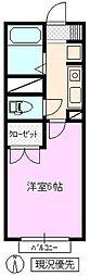 TMコーポ[1階]の間取り