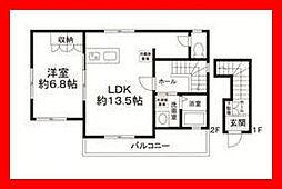 東京都足立区扇1丁目の賃貸アパートの外観