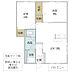 間取り,2LDK,面積58.58m2,賃料5.8万円,つくばエクスプレス 研究学園駅 徒歩31分,,茨城県つくば市東光台