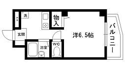 夙川ハイツAIOI[103号室]の間取り