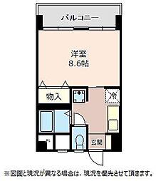 LB鴻巣駅前ビル[504号室]の間取り