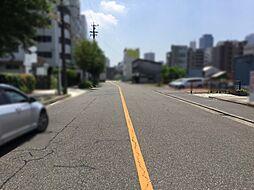 前面道路を含む現地写真(南側)