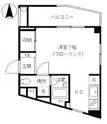 マ・メゾン椎名町[2階]の間取り