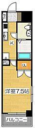 リファレンス祇園[12階]の間取り