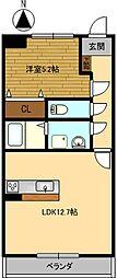 パスカル[2階]の間取り