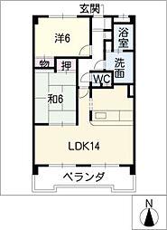 LORD・LI・EST[4階]の間取り