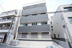 大阪府大阪市東淀川区淡路3丁目の賃貸アパートの外観