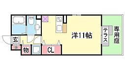 ラーゼンヴィラ[I-102号室]の間取り