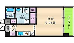 ル・パピヨンDX[6階]の間取り