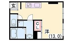 大上マンション[5F号室]の間取り