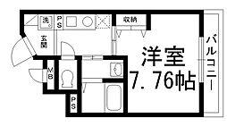 リヴィックスマンション[0506号室]の間取り