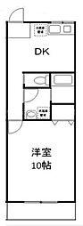 Kフィールド杉田[2階]の間取り