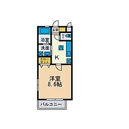 本厚木ミッドタウンiidaII[1階]の間取り