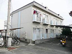 ハイツ矢田[1階]の外観