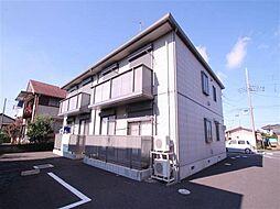 茨城県かすみがうら市上稲吉の賃貸アパートの外観